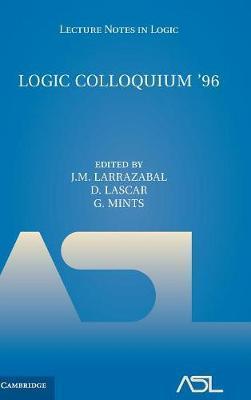 Logic Colloquium '96