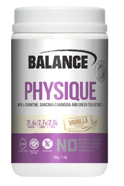 Balance Physique Protein Powder - Vanilla (500g)