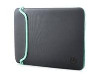 """HP 14"""" - Neoprene Sleeve (Grey/Green)"""