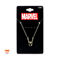 Marvel: Loki Helmet - Pendant Necklace