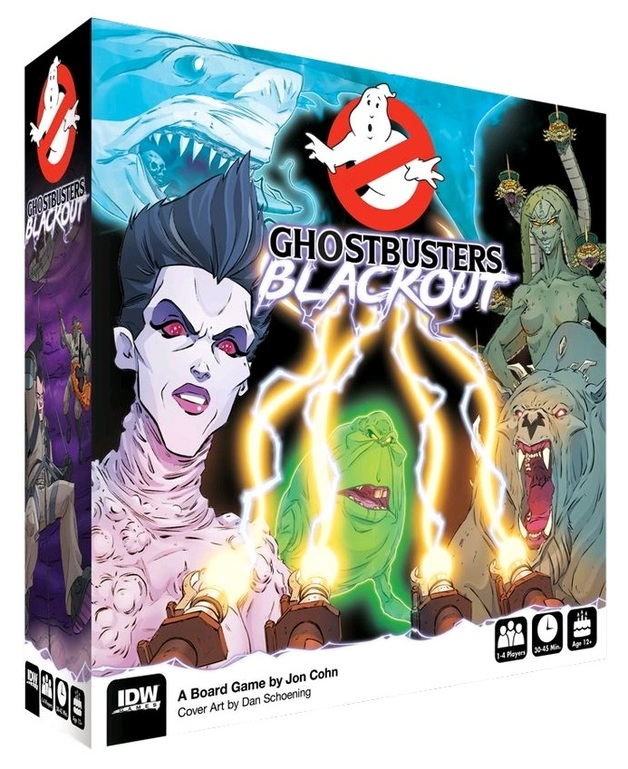 Ghostbusters: Blackout - Board Game