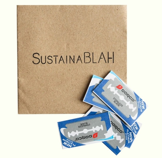 Sustainablah Safety Razor Replacement Blades