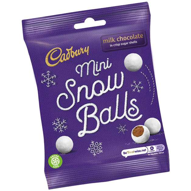 Cadbury Mini Snowballs (80g)