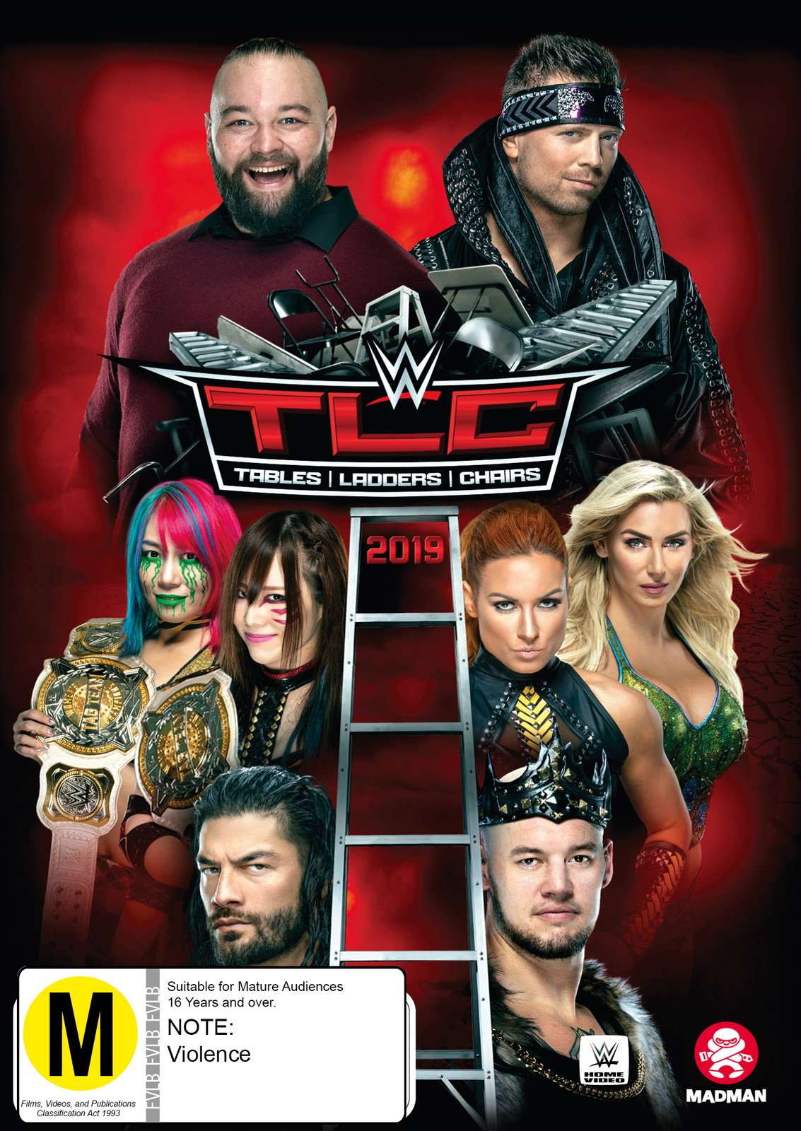 WWE: TLC Tables, Ladders & Chairs 2019 on DVD image