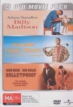 Billy Madison/Happy Gilmore/Bulletproof  on DVD