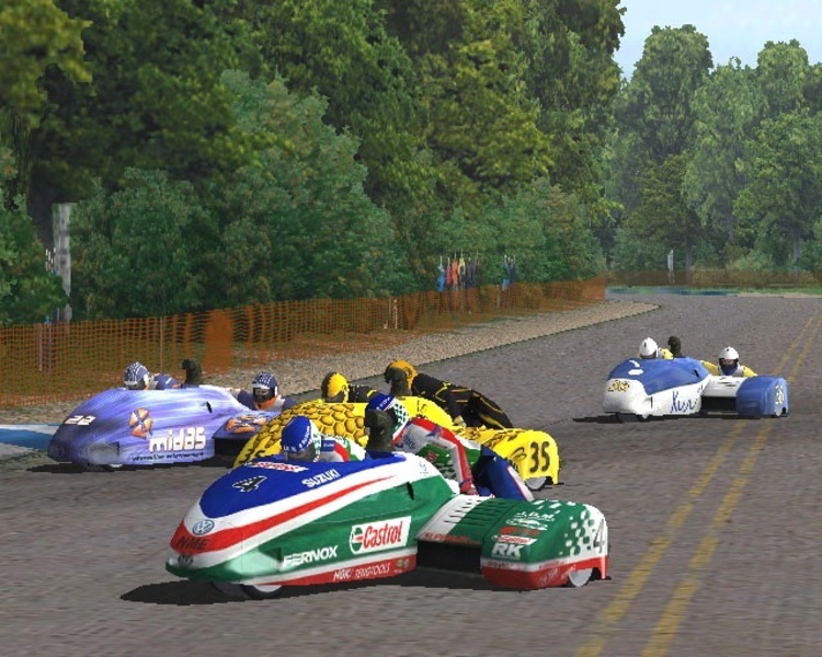 Crescent Suzuki Racing: Superbikes and Super Sidecars for PlayStation 2 image