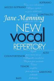 New Vocal Repertory by Jane Manning