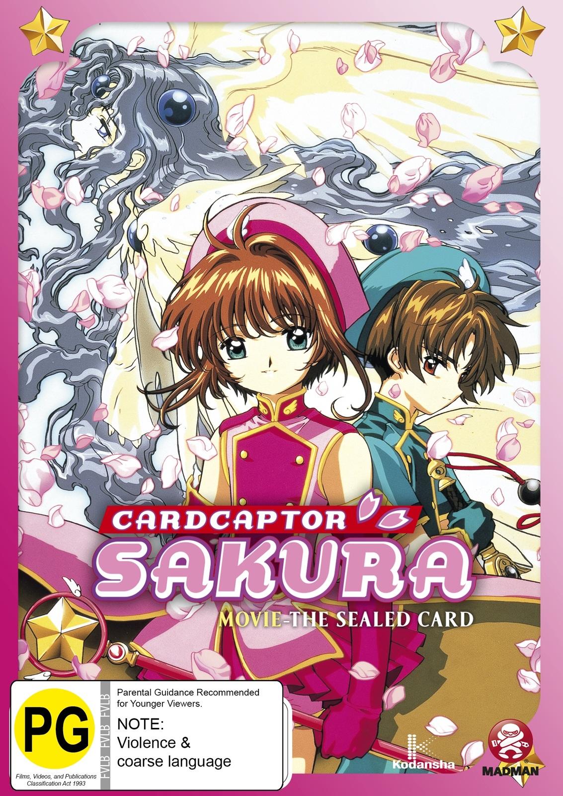 Cardcaptor Sakura Movie - The Sealed Card on DVD image