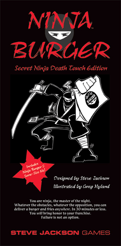 Ninja Burger: Secret Death Touch image