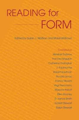 Reading for Form