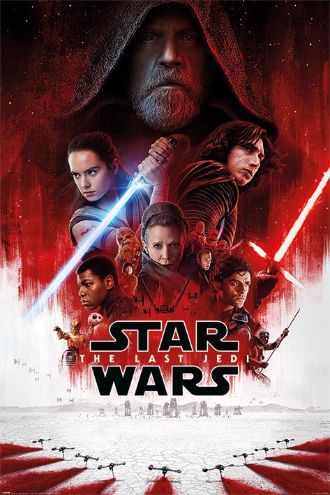Star Wars The Last Jedi Maxi Poster (718)