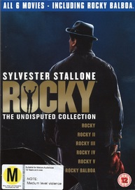 Rocky: The Undisputed Collection on DVD