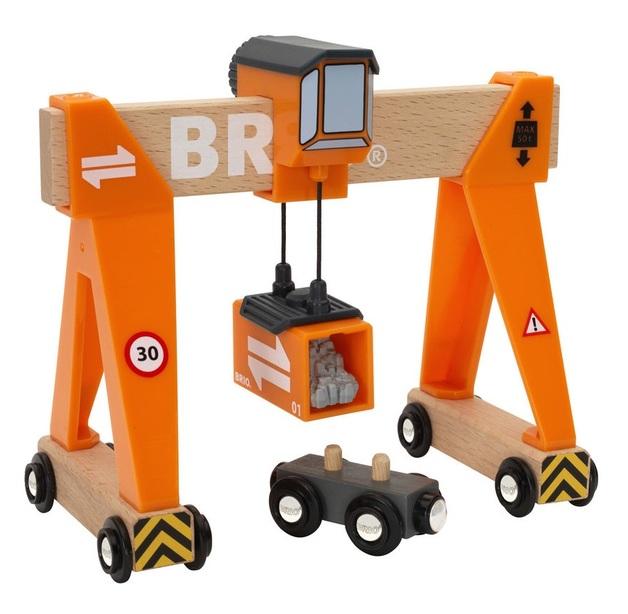 Brio: Railway - Gantry Crane
