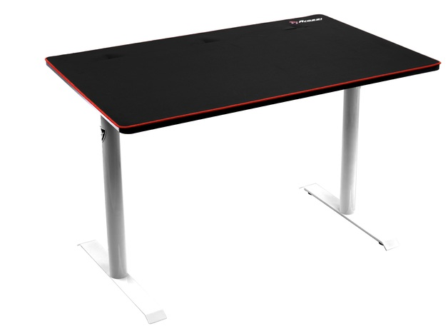 Arozzi Arena Leggero Gaming Desk (White) for