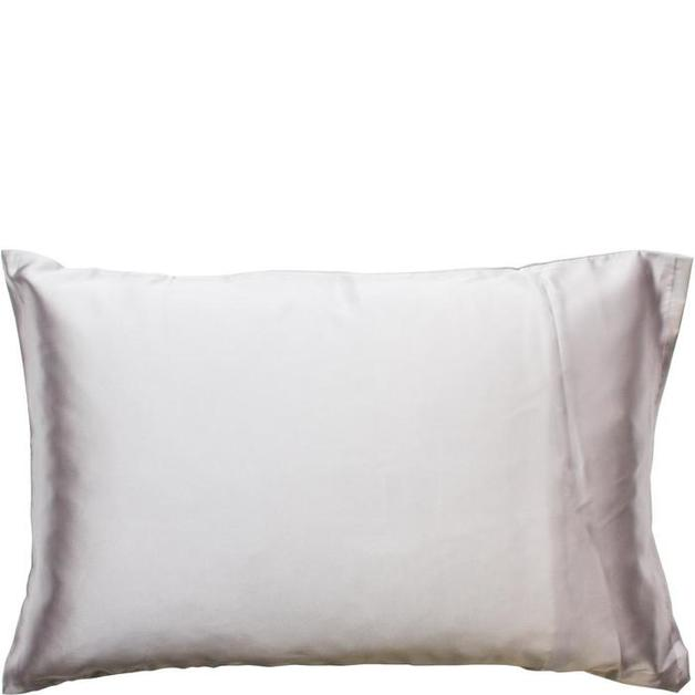 Simply Essential Satin Pillow Slip - Silver