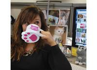 BigMouth The Crazy Cat Lady Mug