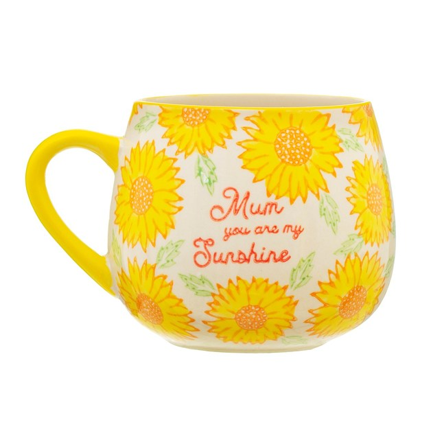 Sass & Belle: Sunflower Mum Yellow Mug