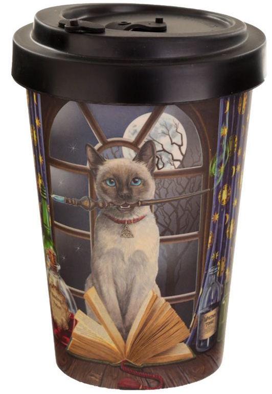 Lisa Parker Hocus Pocus Biodegradable Travel Mug - 400ml
