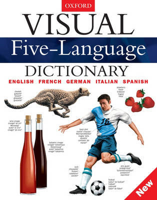 Visual Five-Language Dictionary by Jean Claude Corbeil image