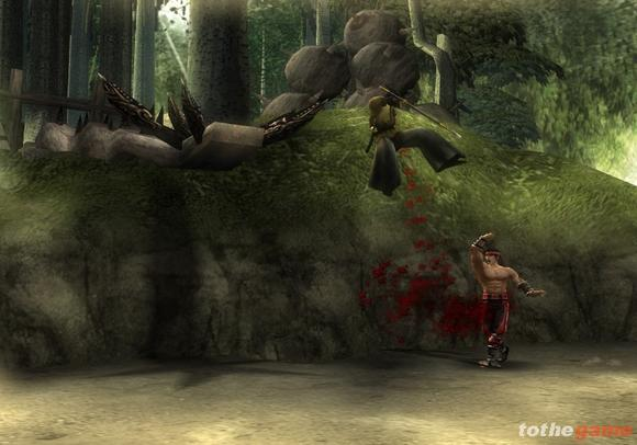 Mortal Kombat: Shaolin Monks screenshot