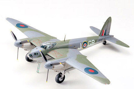 Tamiya British De Havilland Mosquito B-Mk.IV 1/48 Aircraft Model Kit image