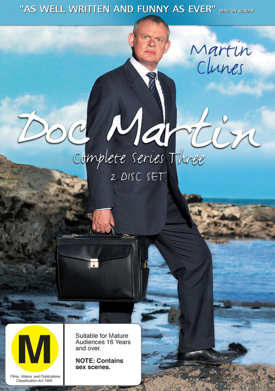 Doc Martin - Complete Series 3 (2 Disc Set) on DVD