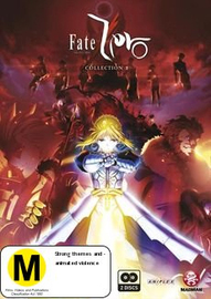 Fate/Zero - Collection 01 on DVD