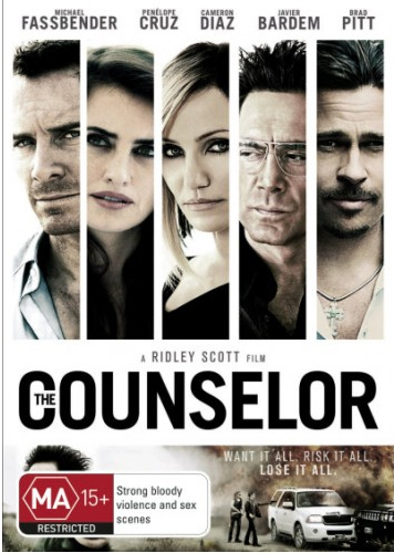 The Counselor on DVD