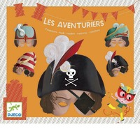 Djeco: Party Masks - Adventurers