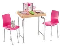 Barbie: Dining Set & Puppy Playset