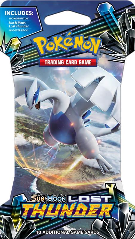Pokemon TCG: Lost Thunder - Single Blister (10 Cards)