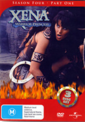 Xena - Warrior Princess: Season 4 - Part 1 (3 Disc Set) on DVD