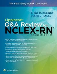 Lippincott Q&A Review for NCLEX-RN by Diane Billings
