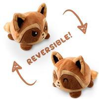 TeeTurtle: Reversible Mini Plush - Raccoon