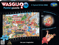 Wasgij: 1000 Piece Puzzle - Originals #15 (A Typical British BBQ!)