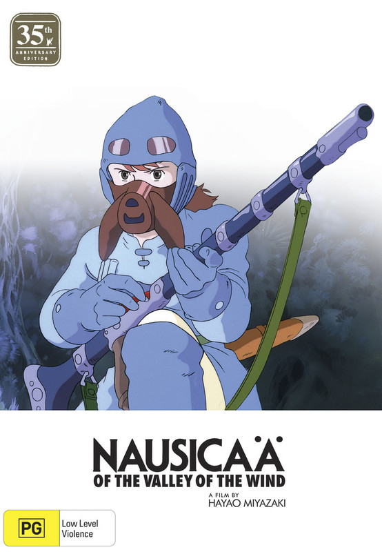 Nausicaa Of The Valley Of The Wind 35th Anniversary Ltd Edition on DVD, Blu-ray