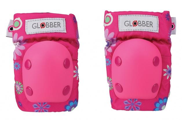 Globber: Protective Pad Set - Toddler XXS (Flower Pink)