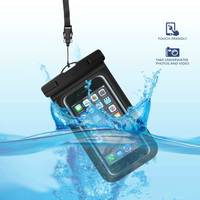 Waterproof Pouch Cellphone Dry Bag - White