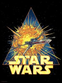Star Wars: Just Like Back Home by Barry Blankenship - Lithograph Art Print