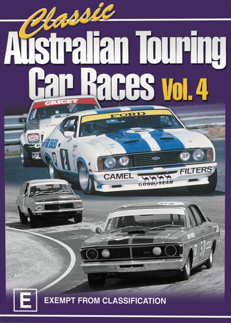 Classic Australian Touring Car Races - Vol. 4 on DVD image