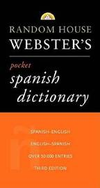 Random House Websters's Pocket Spainsh Dictionary by Random House image