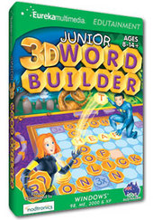 Junior 3D Word Builder for PC Games
