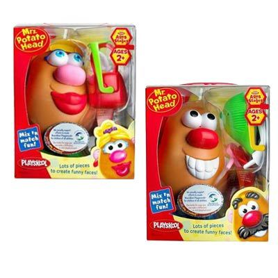 Mr and Mrs Potato Head Value Pack