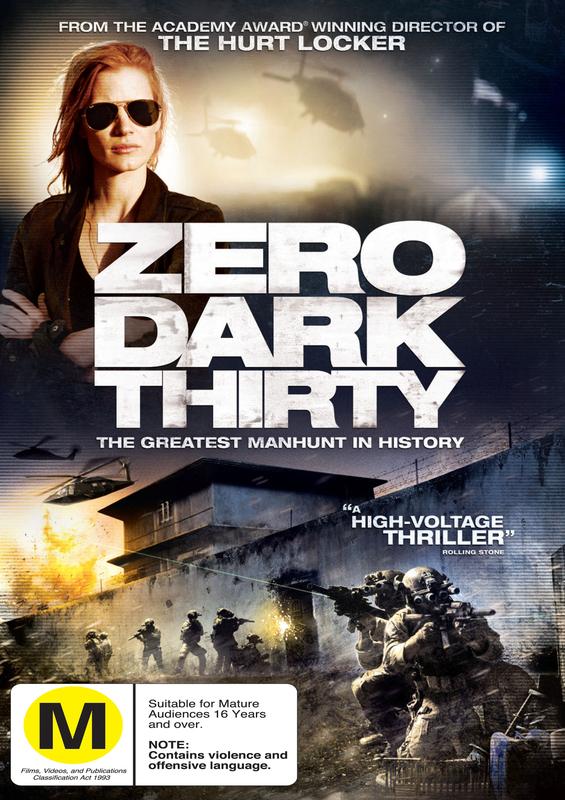 Zero Dark Thirty on DVD