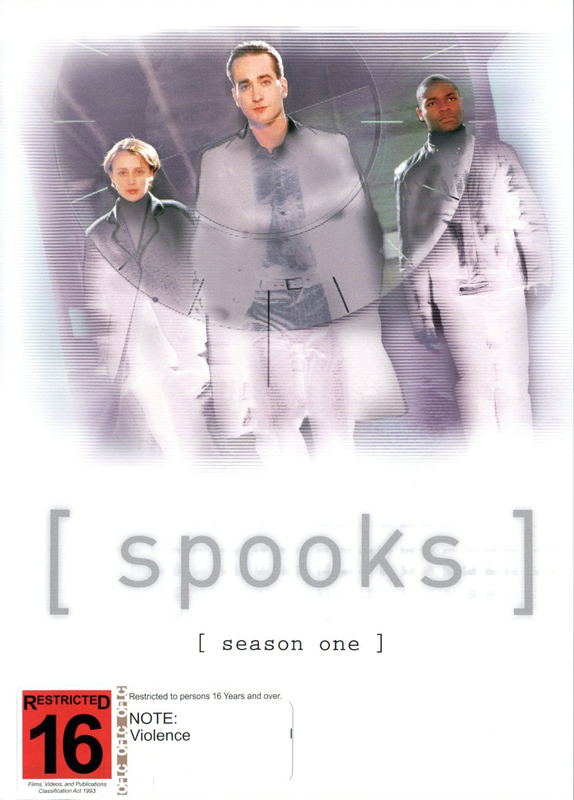 Spooks - Season 1 (3 Disc Set) on DVD