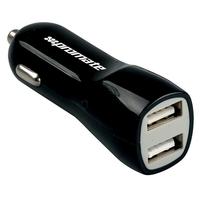 Promate Vivid USB Car Charger (Black)