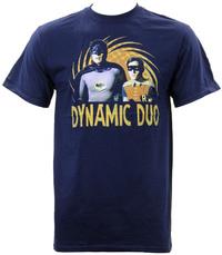 Batman 66 Dynamic Duo T-Shirt (Medium)