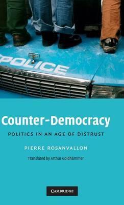 Counter-Democracy by Pierre Rosanvallon image