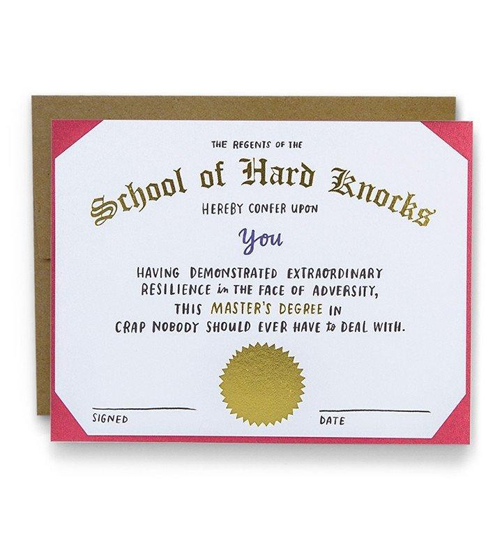 Emily McDowell: Hard Knocks - Greeting Card image