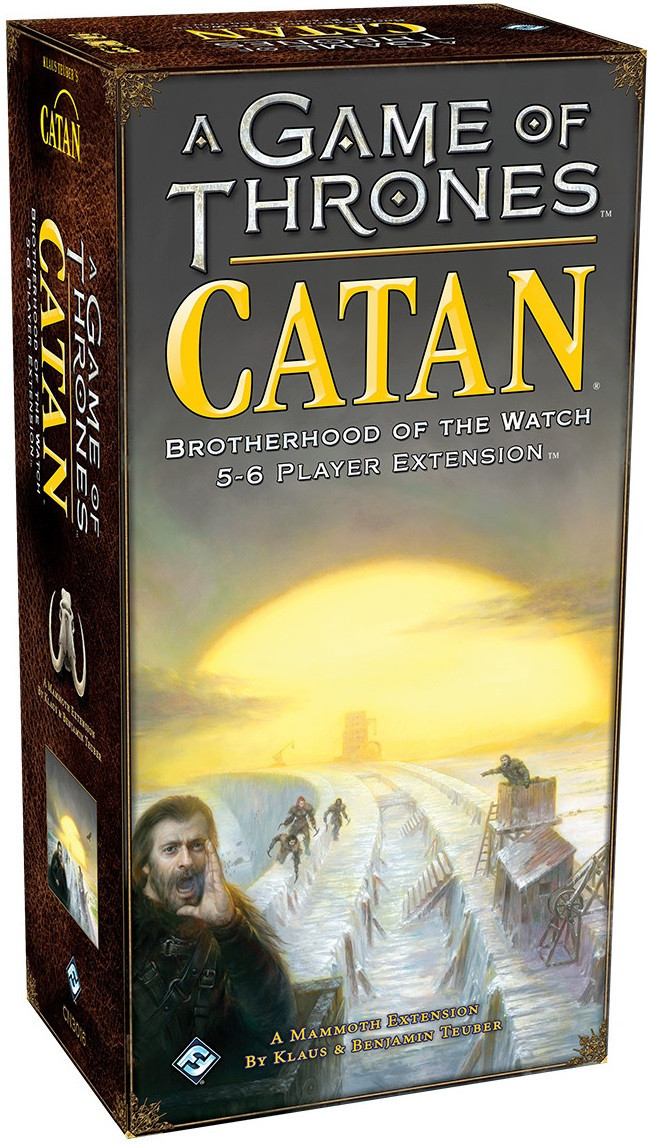 Game of Thrones Catan: Brotherhood of the Watch - 5-6 Player Expansion image